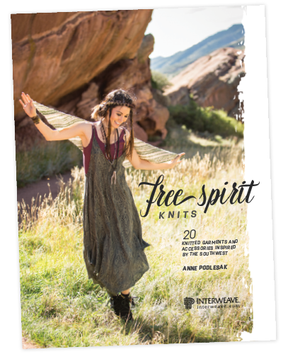 Free Spirit Knits book cover & title page image