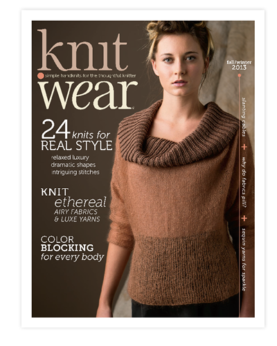 Knit.Wear magazine cover